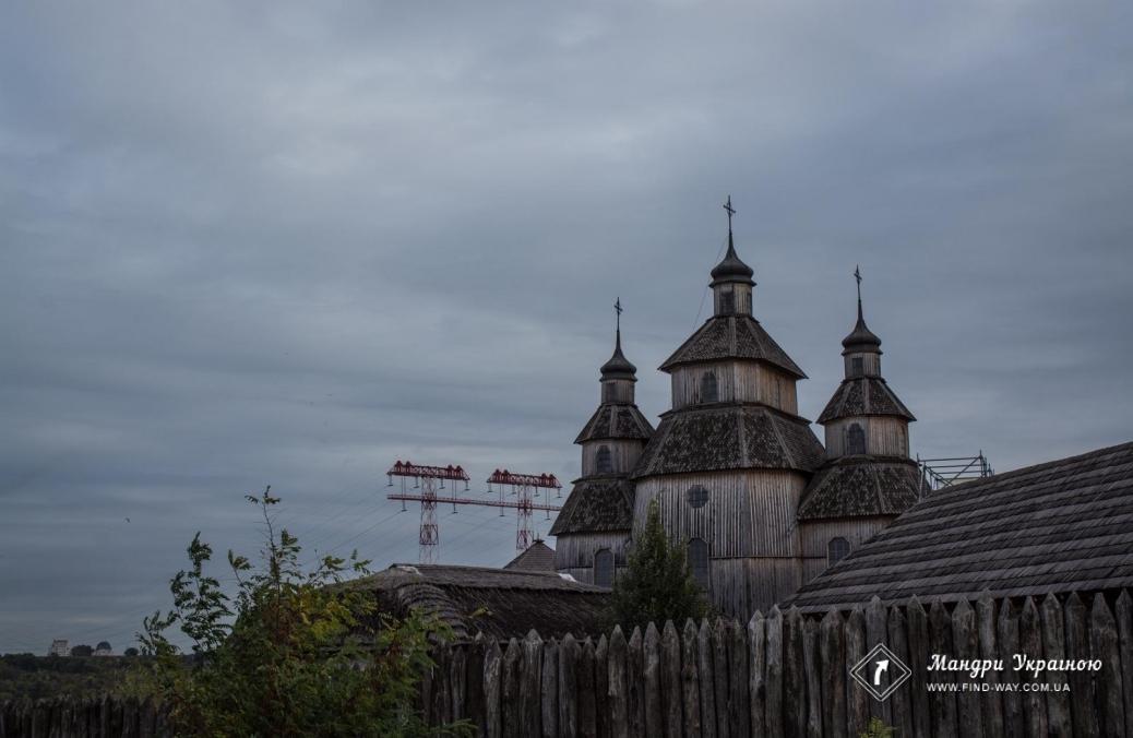 """Історико-культурний комплекс """"Запорізька Січ"""", о.Хортиця"""
