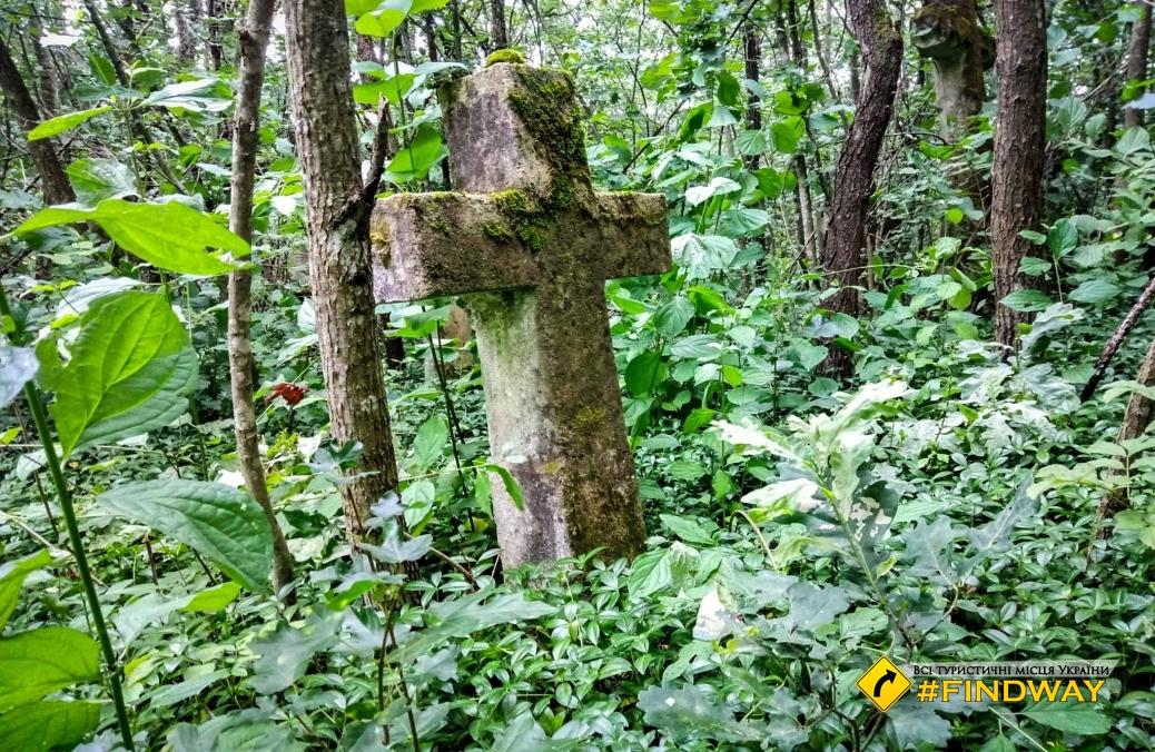 Ancient cemetery, Otrokiv