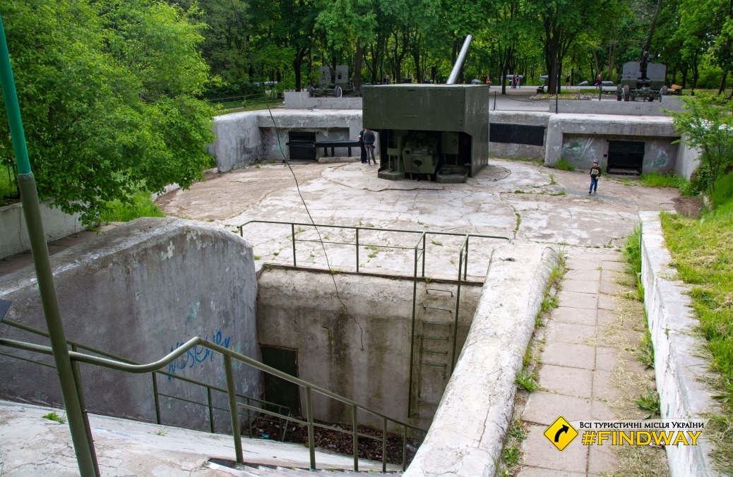 411 battery - Memorial to the heroic defense of Odesa