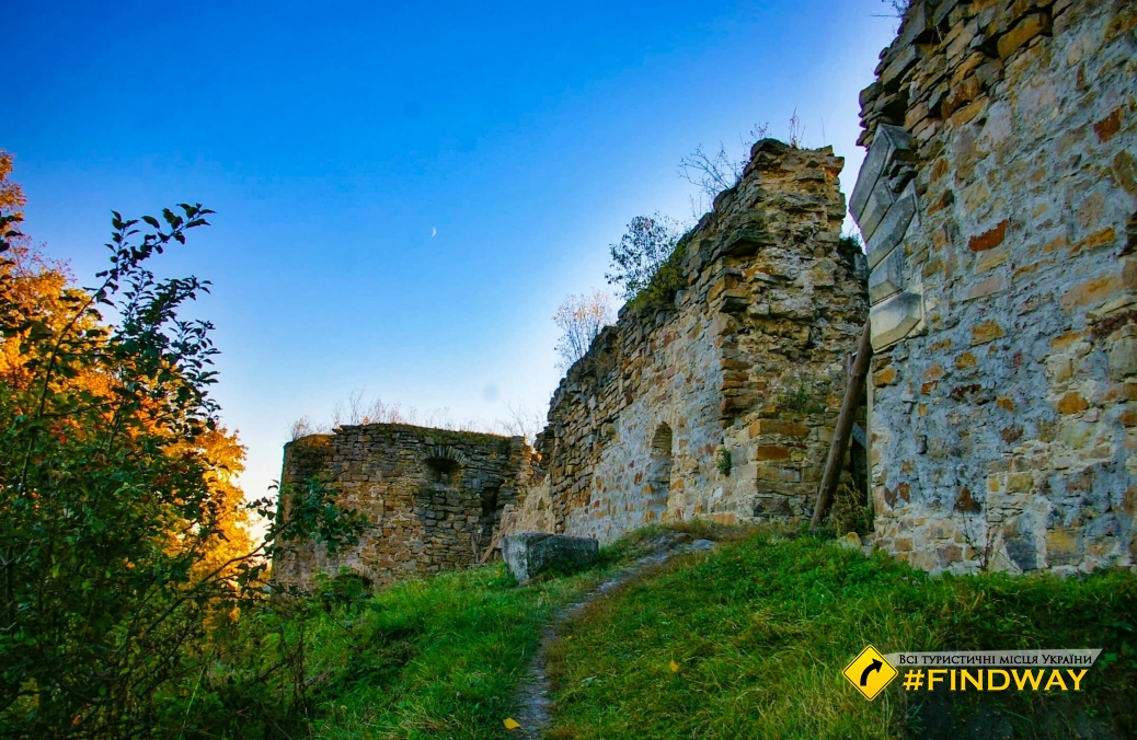 Микулинецкий замок (пгт. Микулинци)