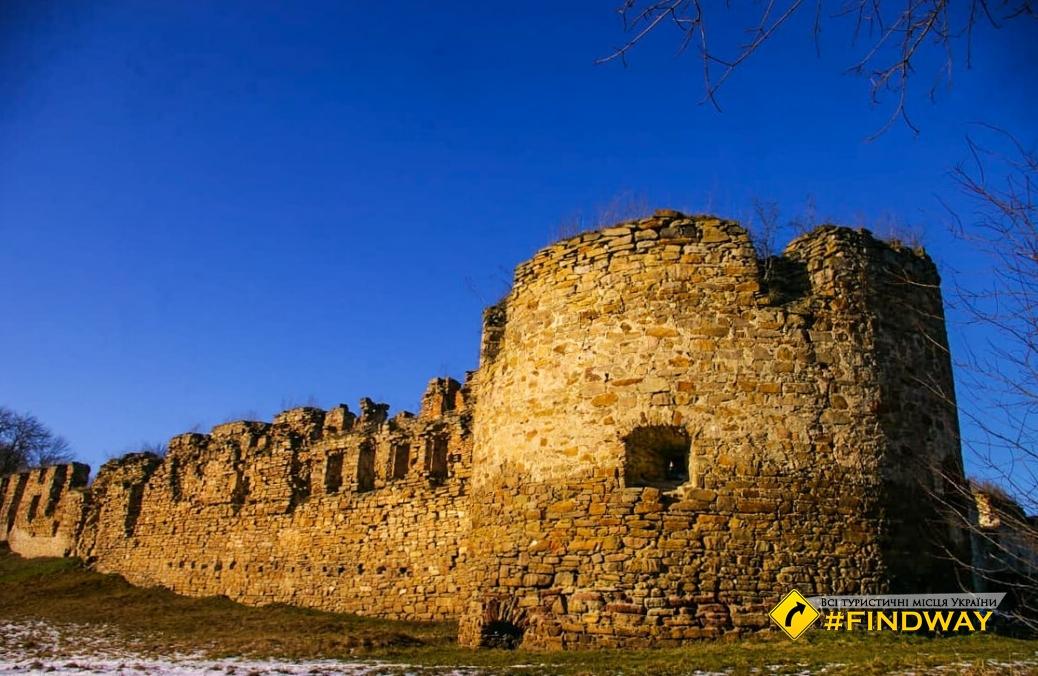 Mikulinetsky castle (Mikulintsy)