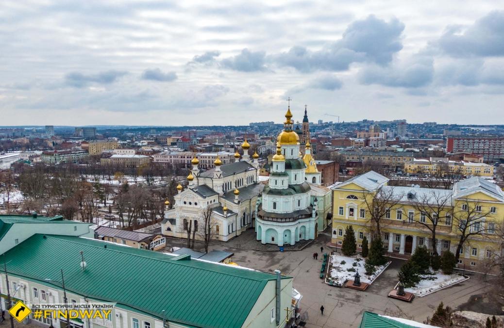 St.Pokrovsky mans Monastery, Kharkiv
