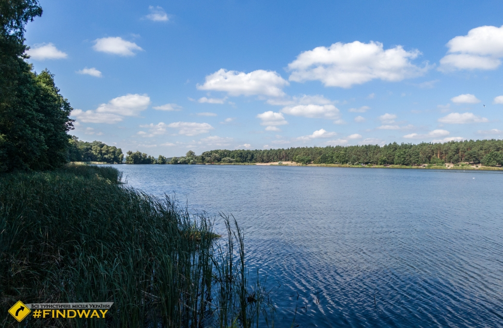 Sviatoshynsky ponds, Kyiv