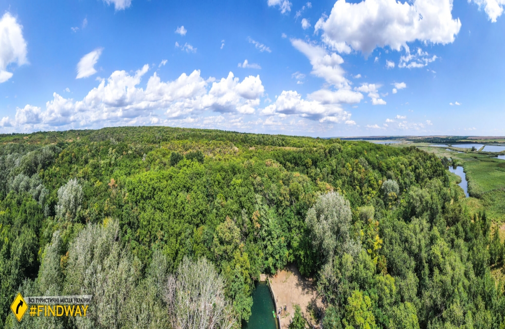 Pansky lake, Hryhorivka