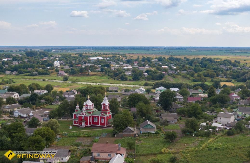 Church of St. Paraskeva Friday (1911), Korets