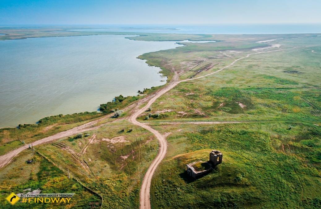 Склеп семьи Фальц-Фейн, Новочерноморье