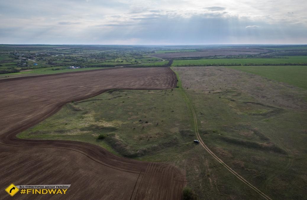 Алексеевская крепость Днепровской линии, Ланцевое