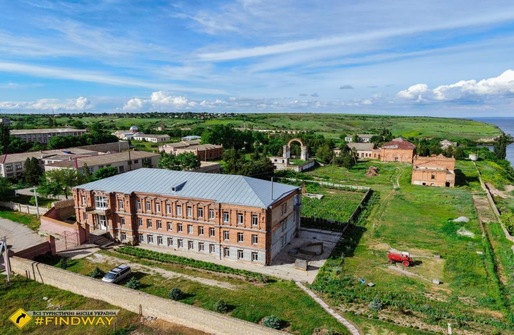Свято-Григорівський Бізюків монастир, Червоний Маяк