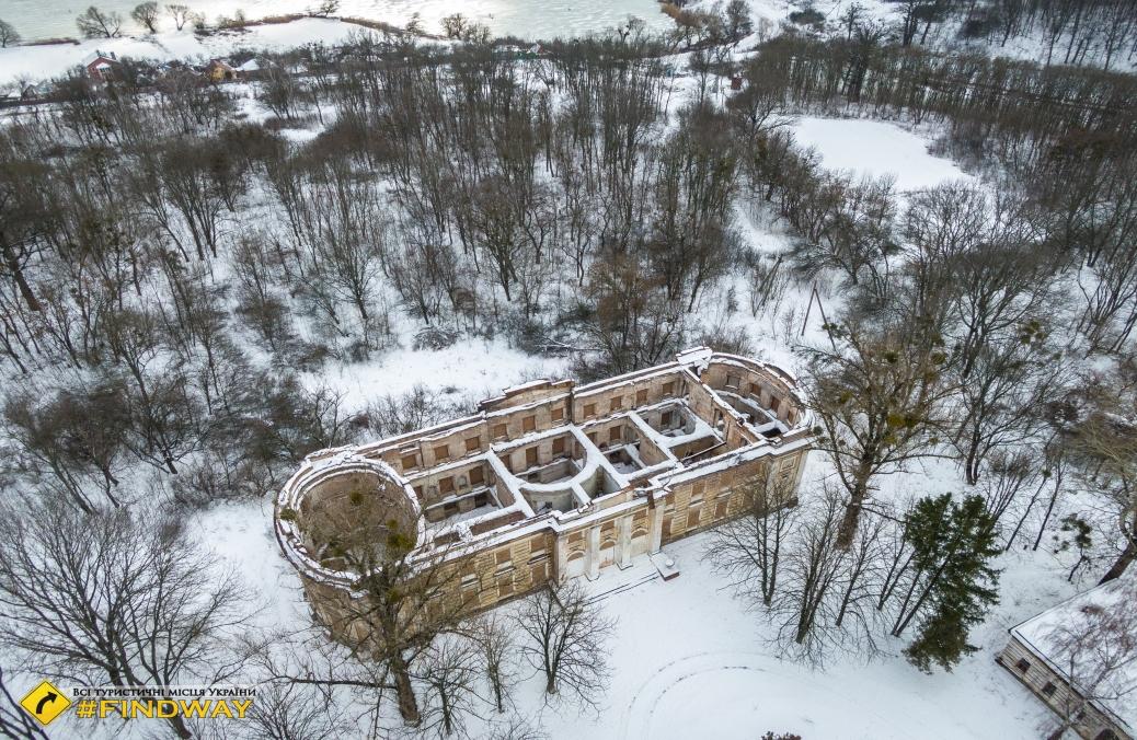Маєток Шидловських, Старий Мерчик