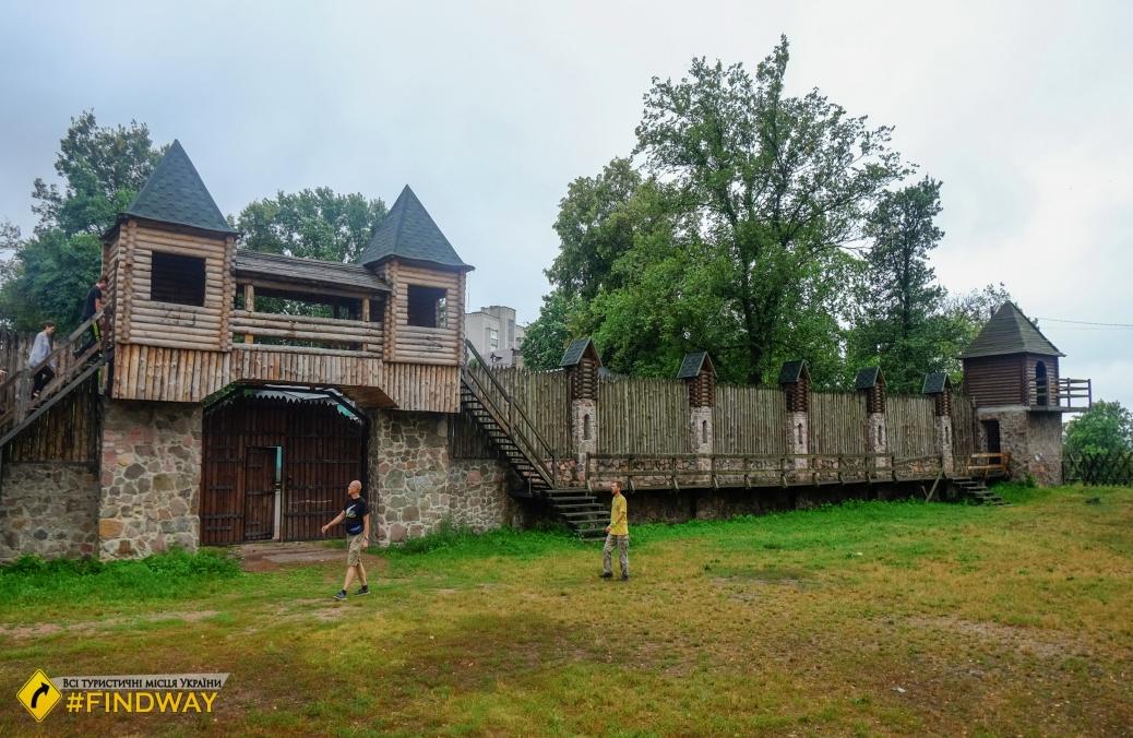 Drevlyansky Park, Korosten