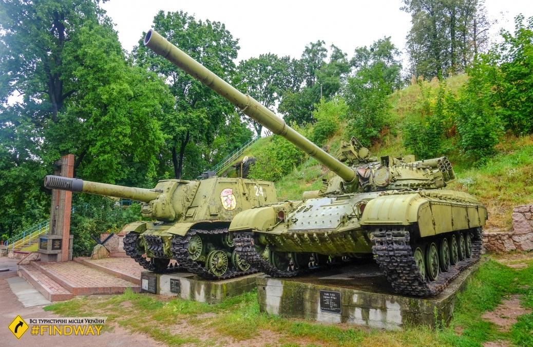 Военно-исторический музейный комплекс Скала, Коростень