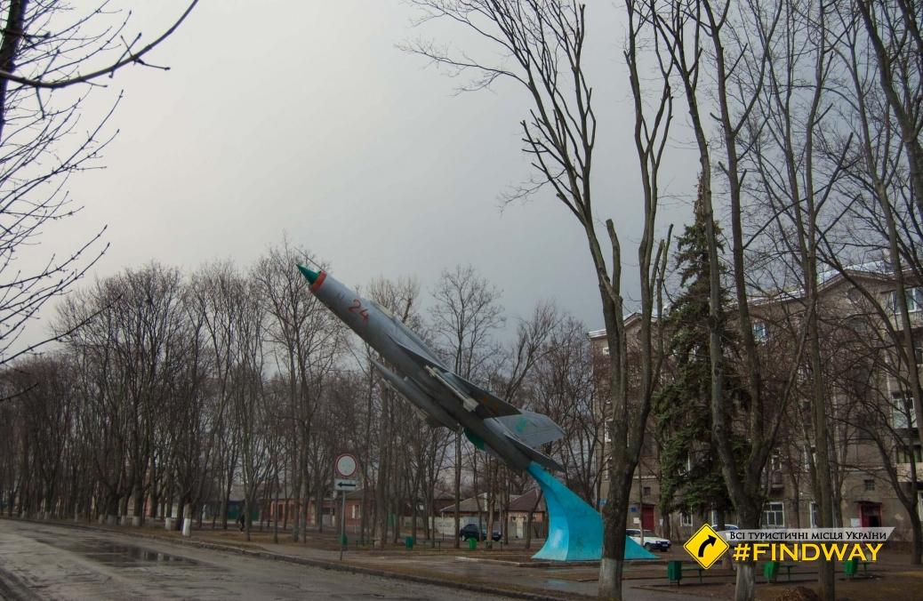 Занедбані корпуси інституту військово-повітряних сил Кожедуба, Харків