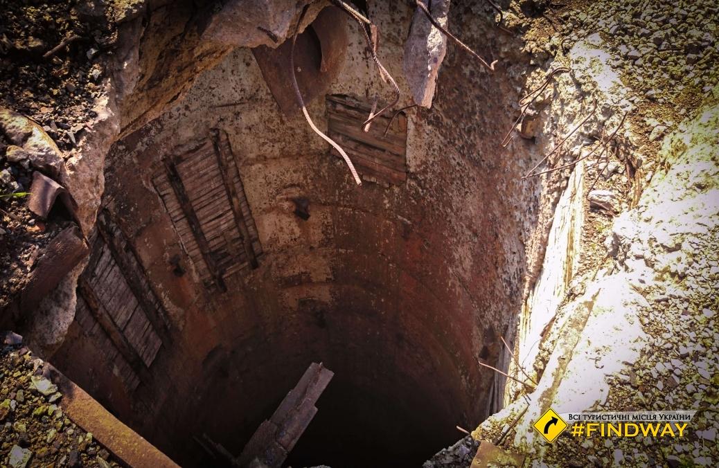 "Ruins of old mine ""Valiavka-Pivdenna"", Kryviy Rih"