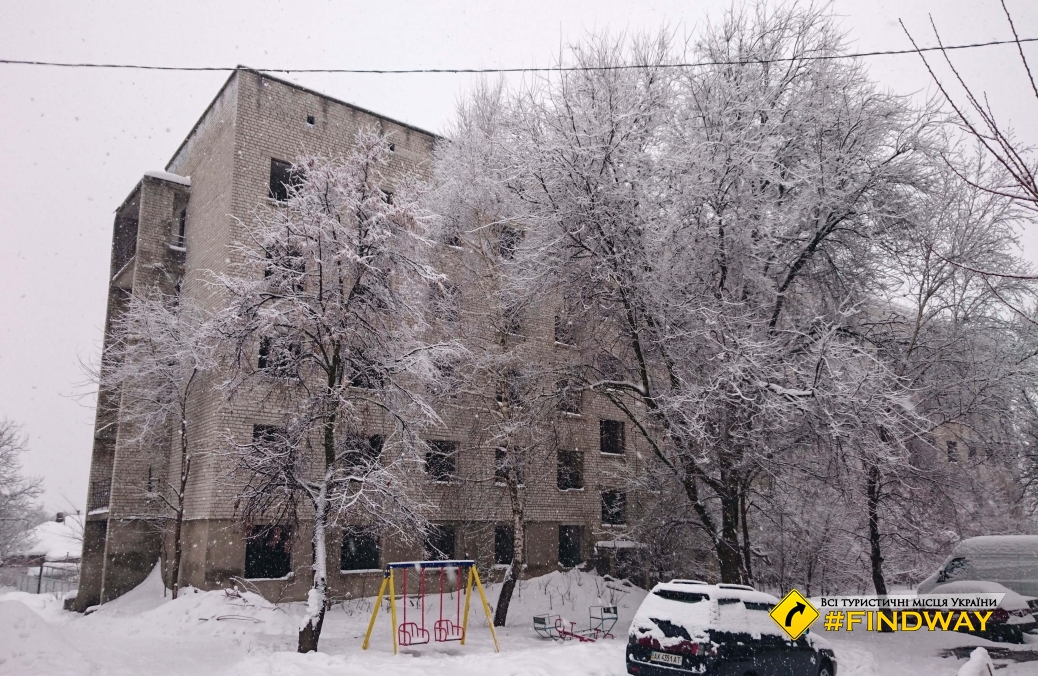 Former family hostel of the College of Agricultural Mechanization, Krasnohrad