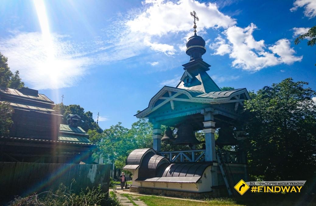 Holy Trinity Monastery, Botanical Garden, Kyiv