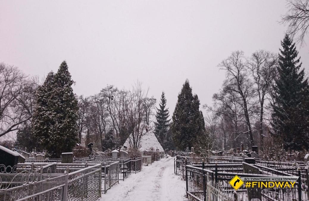 City cemetery, Sumy