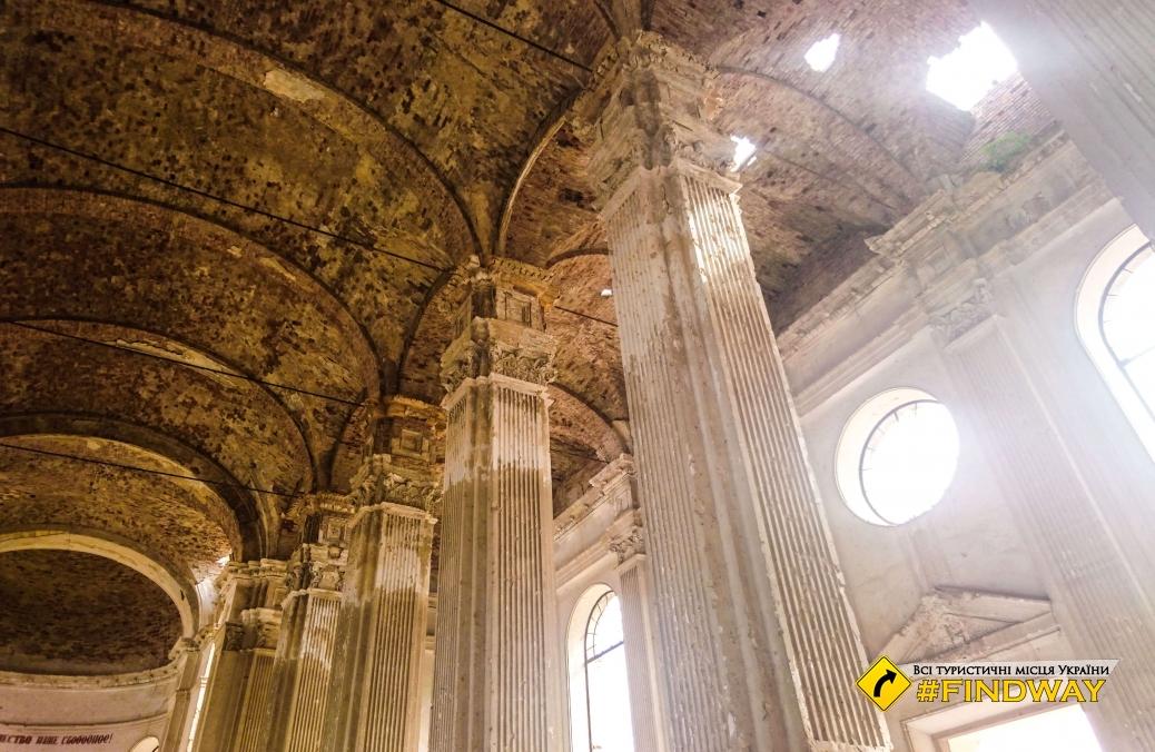 Руїни собору Успіння Пресвятої Богородиці, Лиманське