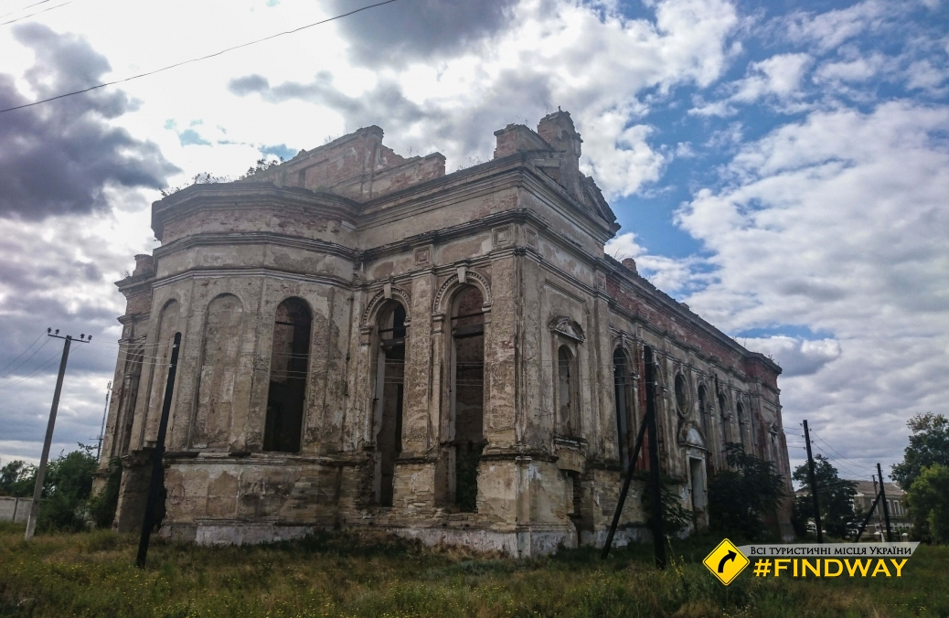 Ruins of Cathedral Assumption of Blessed Virgin, Limanske