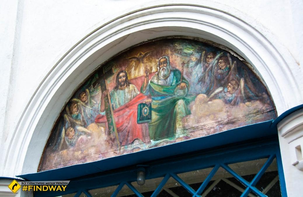 Vasylivska church, Romny