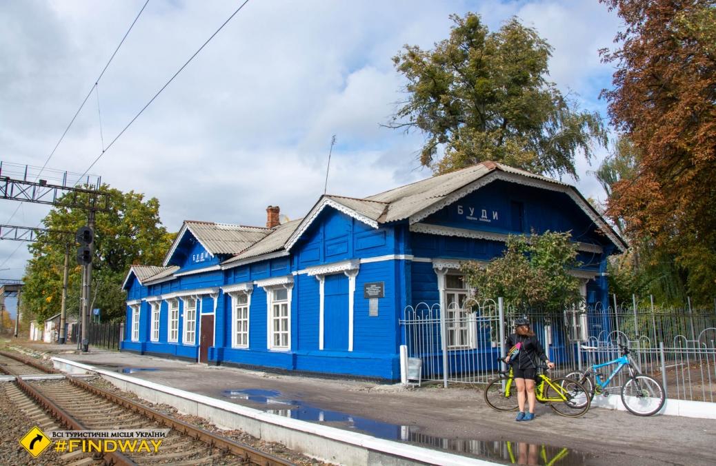 Залізнична станція Буди