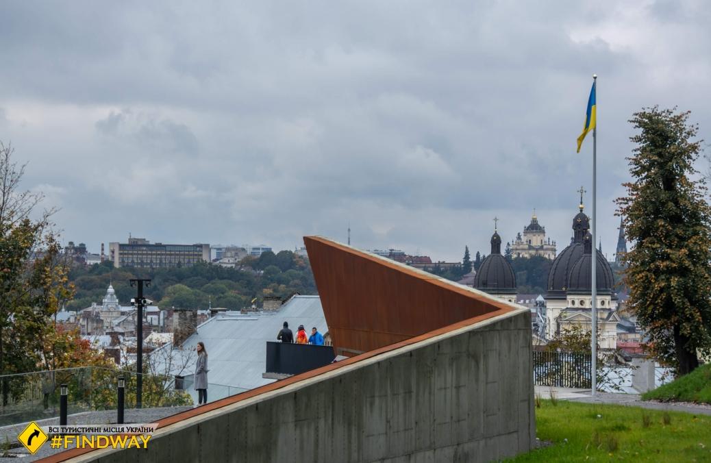 Мемориал Героев Небесной Сотни, Львов
