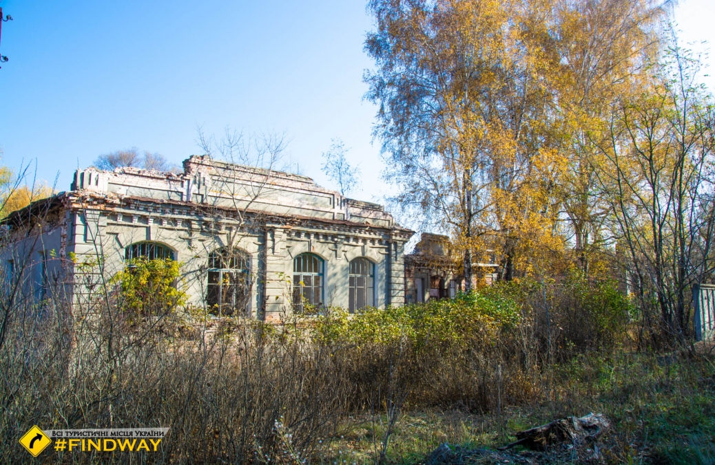 Руины усадьбы Колокольцев, Рубежное
