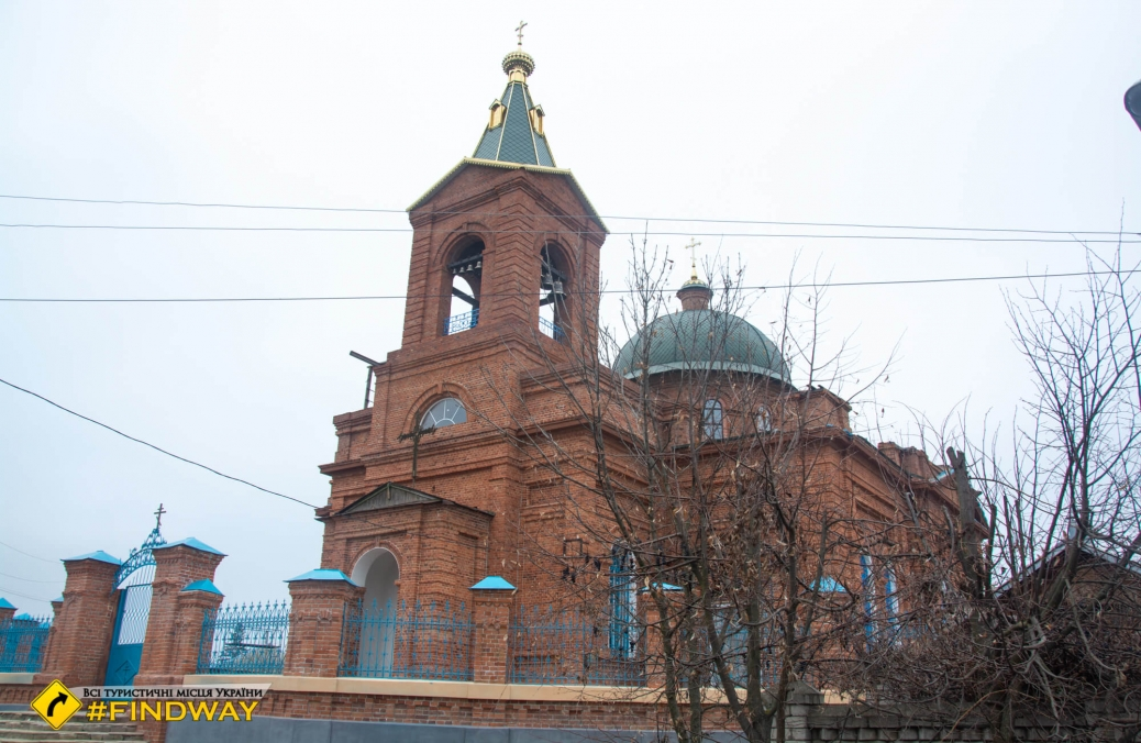 Nativity of Blessed Virgin Mary Church, Cherkasky Tishki