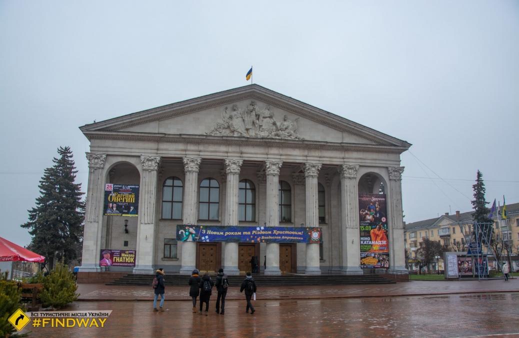 Музыкально-драматический театр Шевченко, Чернигов