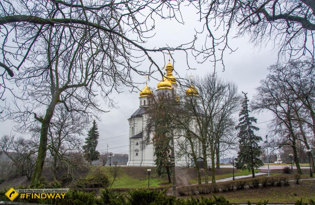 Екатерининская церковь, Чернигов