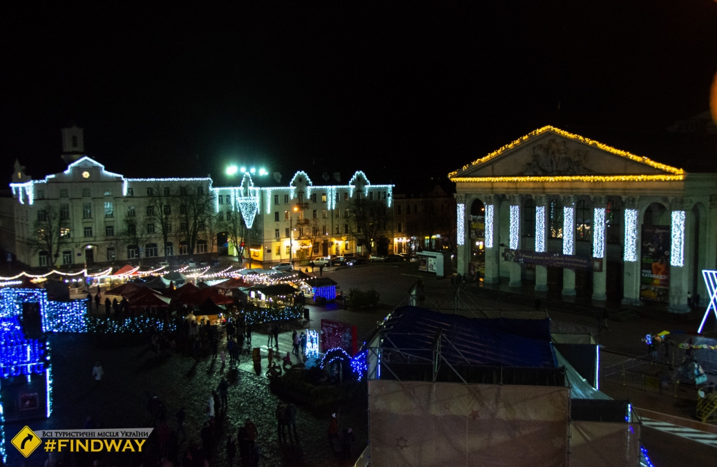 Krasna plosha (Beautiful Square), Chernihiv