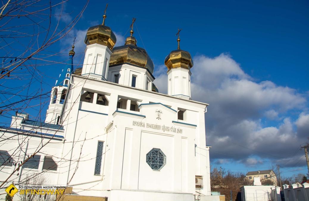 Храм Успения Пресвятой Богородицы, Солоницевка