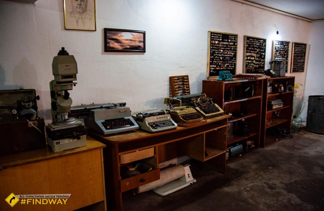 Музей старых вещей на базе зеленого туризма Чайка, Голая Пристань