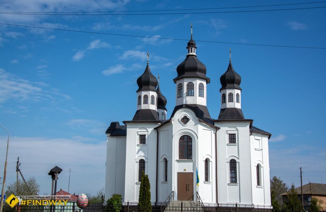 Покровская церковь, Батурин