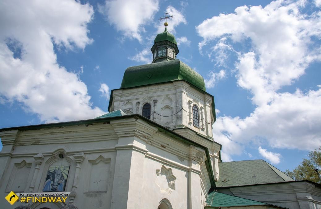Воскресенская церковь (1690р), Седнев