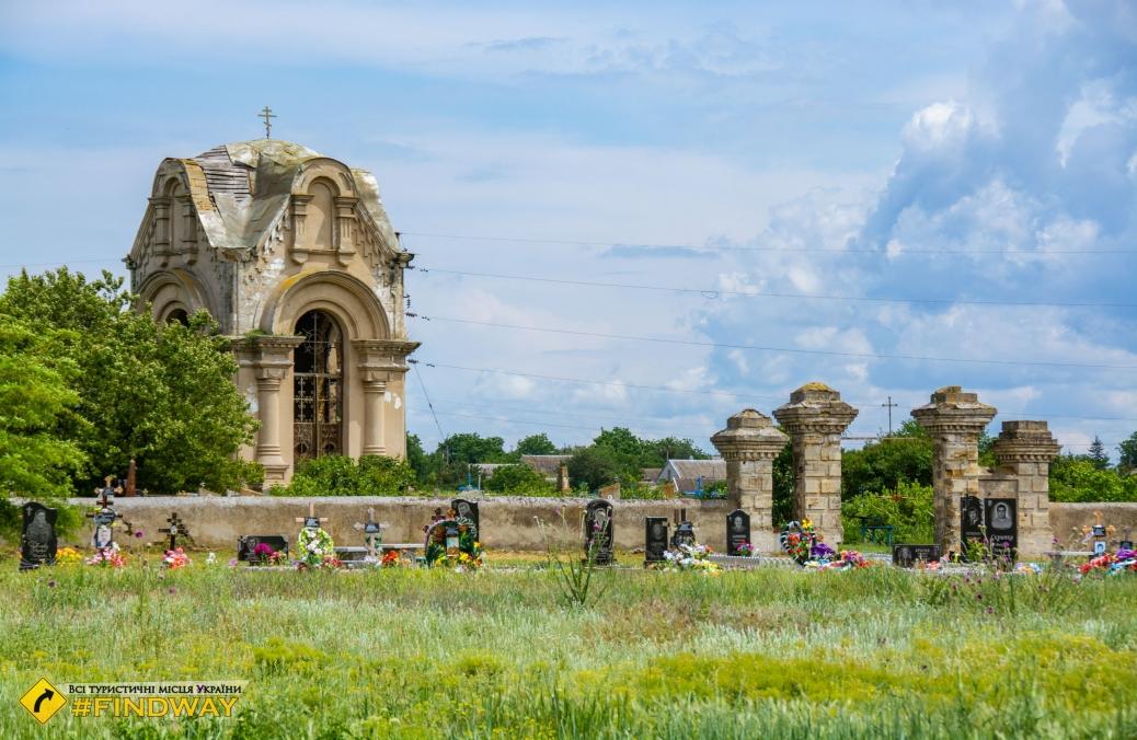 Old cemetery of Crimean War, Beryslav