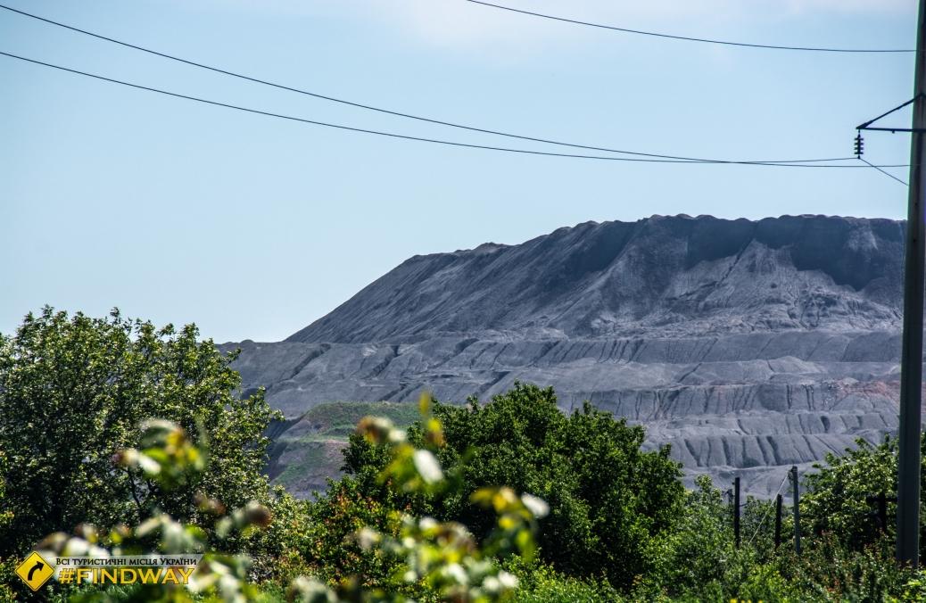 Террикон шахты «Добропольская», Доброполье