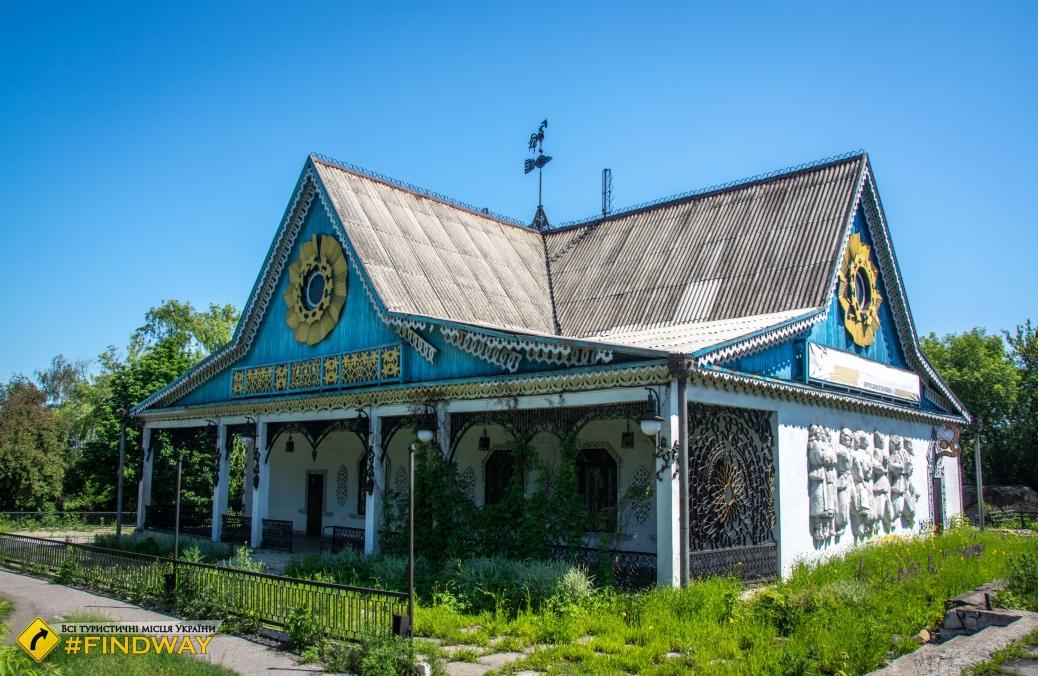 "Abandoned restaurant ""Golden Rooster"", Dobropillya"