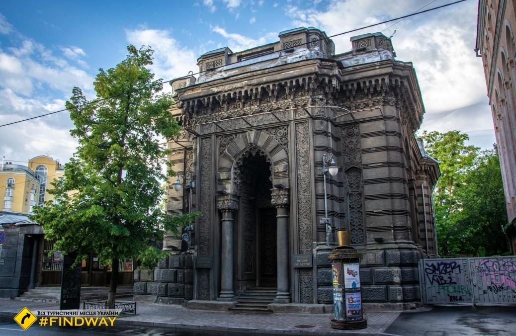 Караїмська кенаса (Будинок актора), Київ