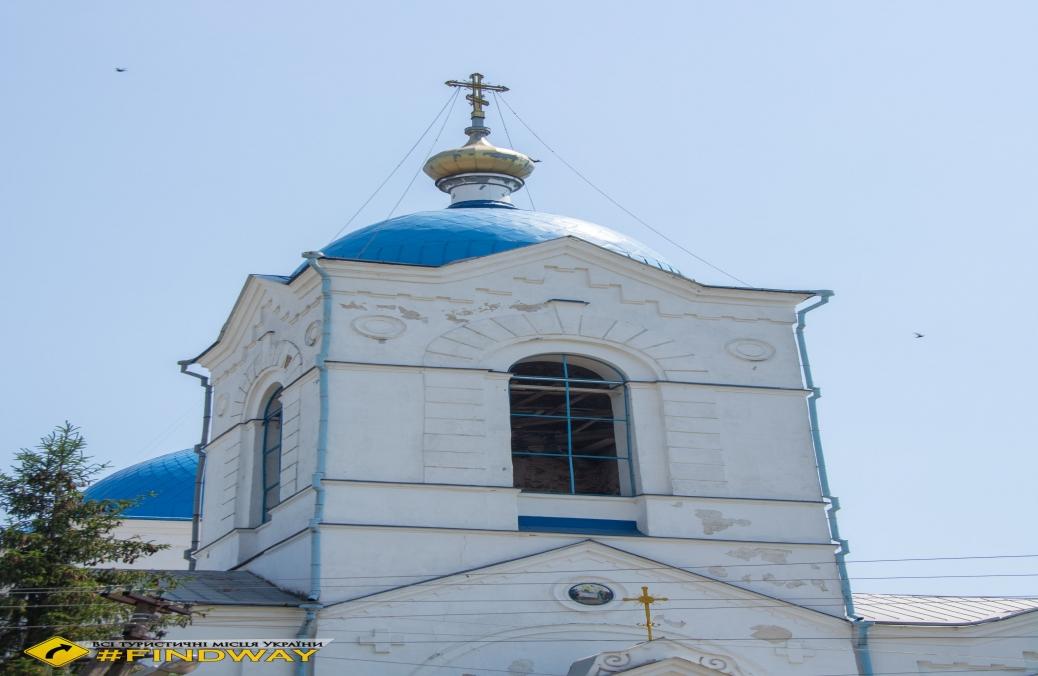 Успенська церква (1805р), Верхня Сироватка