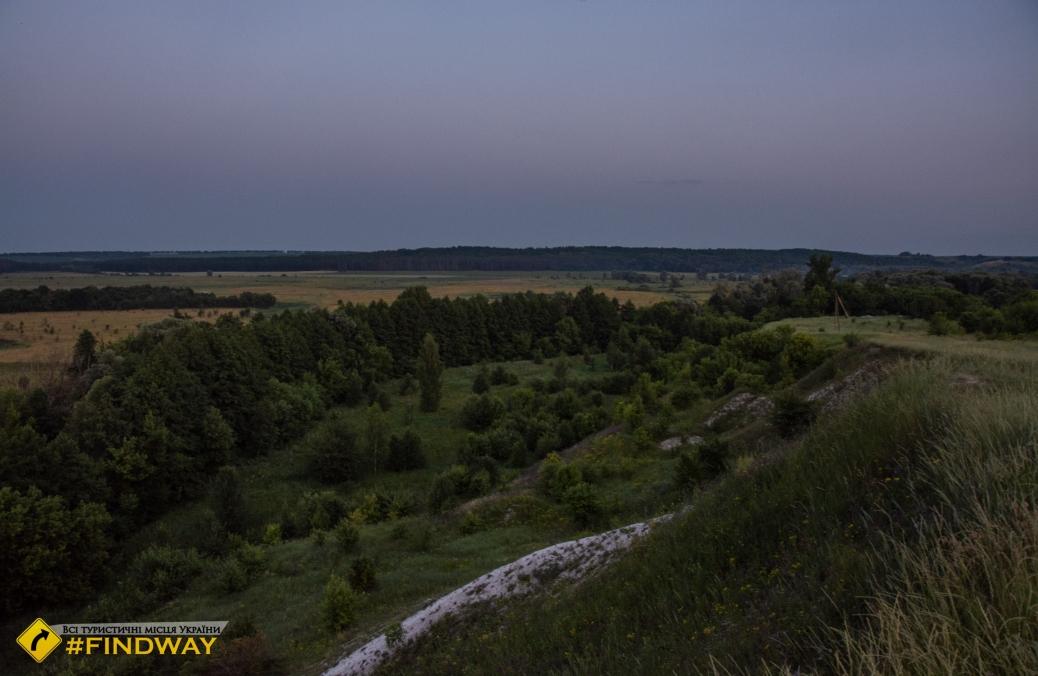 Меловой карьер ландшафтного заказника Могрица
