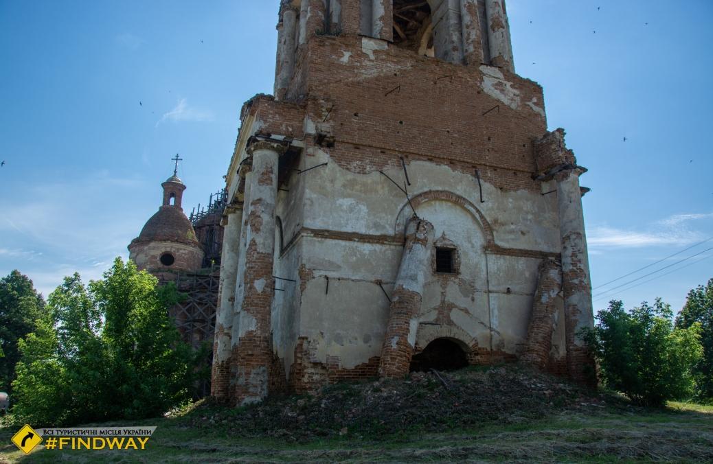Церковь Рождества Пресвятой Богородицы (1806г), Юнаковка