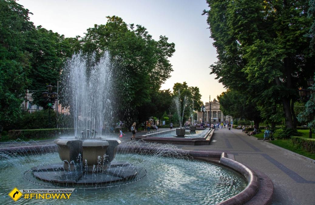 Бульвар Шевченко, Тернополь