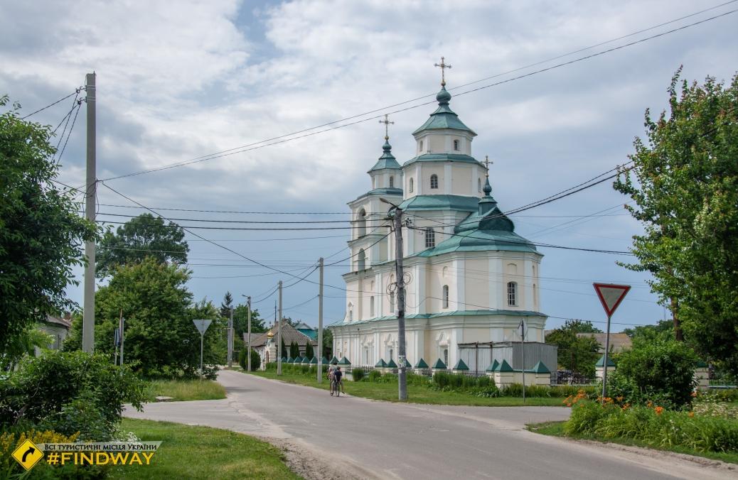Церковь Николая Козацкого (1735г), Путивль