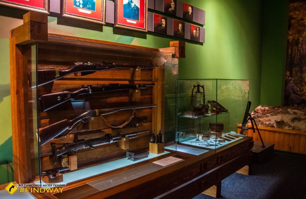 Museum of Partisan Glory «Spadschansky lis», Spadshchyna