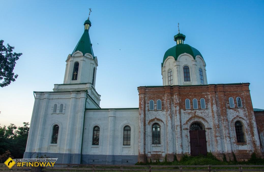 Церковь Иоанна Предтечи (1886), Рябушки