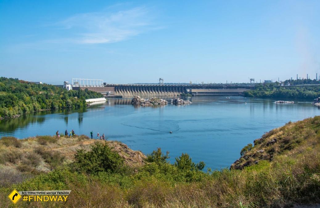 Гребля Дніпровської ГЕС, Запоріжжя