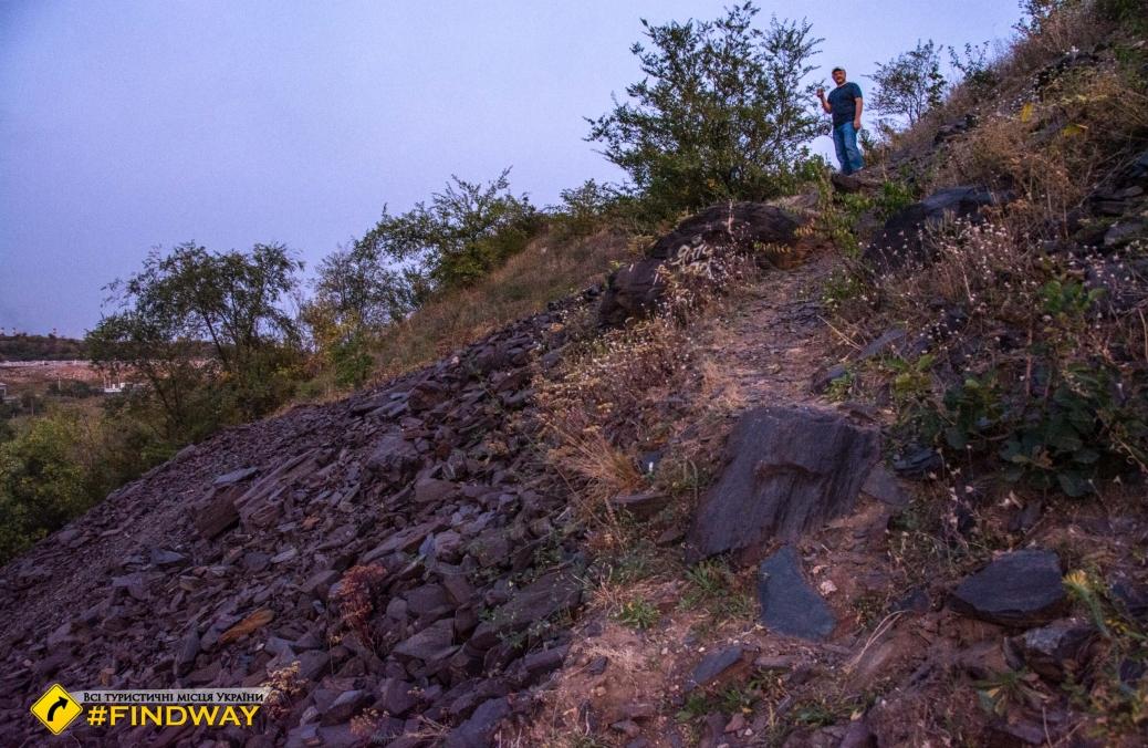 Burschitsky dump, Kryvyi Rih
