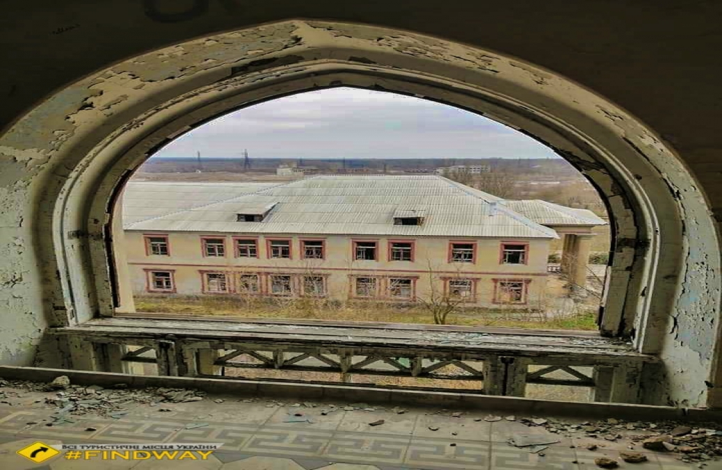 Former second polyclinic after Lenin, Lisichansk