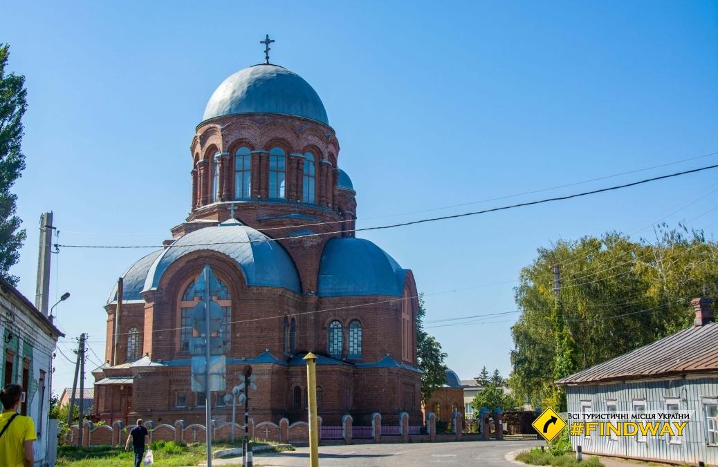 Храм Георгия Победоносца, Ахтырка