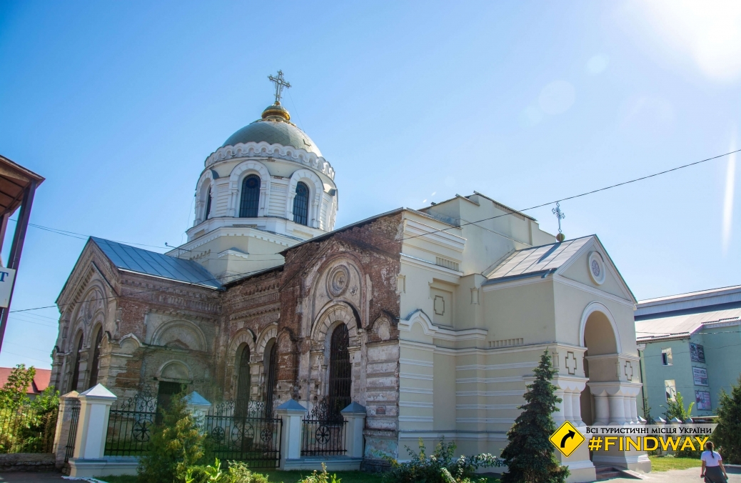 Savior Transfiguration Church, Okhtyrka